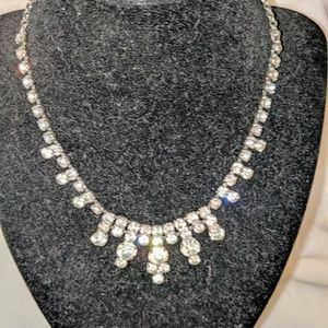 Jewelry - Art Deco Diamond Paste Fringe Necklace
